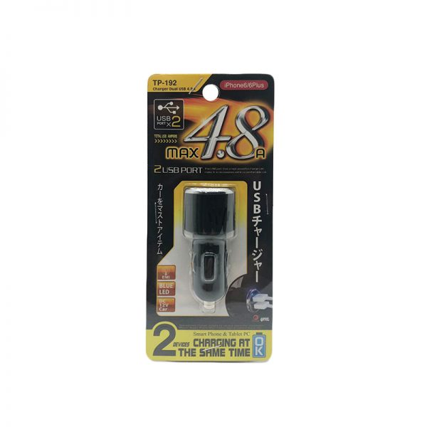 YAC TP192 4.8A Twin USB
