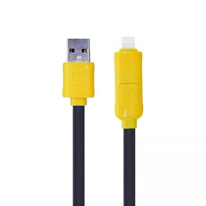 Remax 2-In-1 Cable (Lightning/Micro USB)