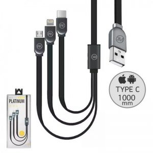 Remax WK Platinum 3-In-1 Cable WDC-010