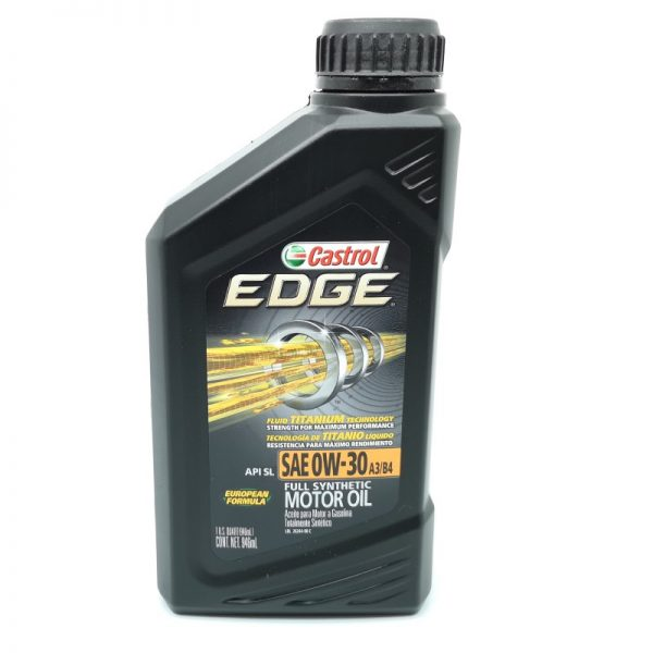 Castrol Edge 0W30 European Formula