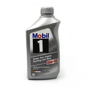 Mobil 1 15W50 Advanced Full Synthetic