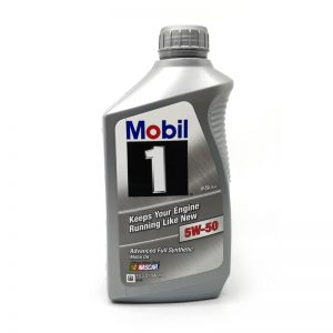 Mobil 1 5W50 Advanced Full Synthetic Motor Oil